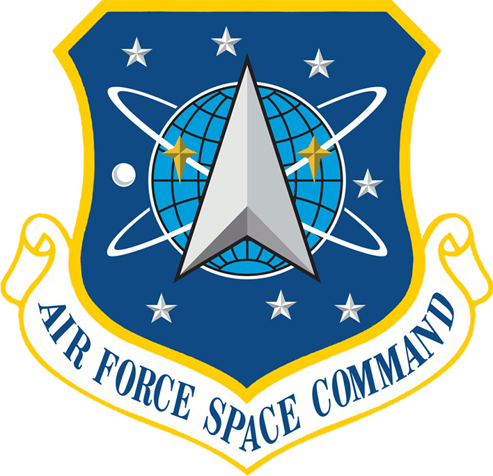 us air force space command seal