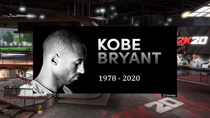Kobe Bryant Tribute in NBA 2K20