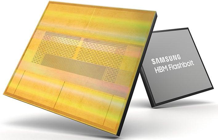 Samsung HBM2E Memory