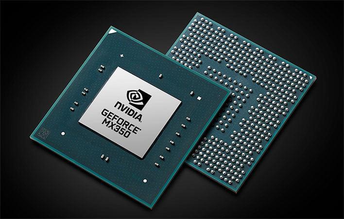 NVIDIA GeForce MX350 GPU