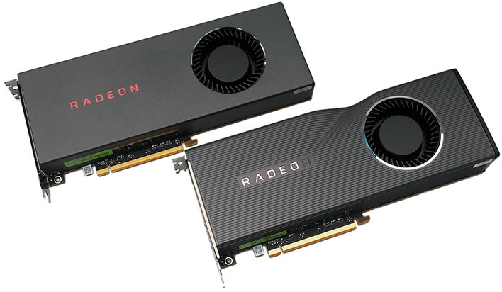 AMD Radeon RX 5700 Cards