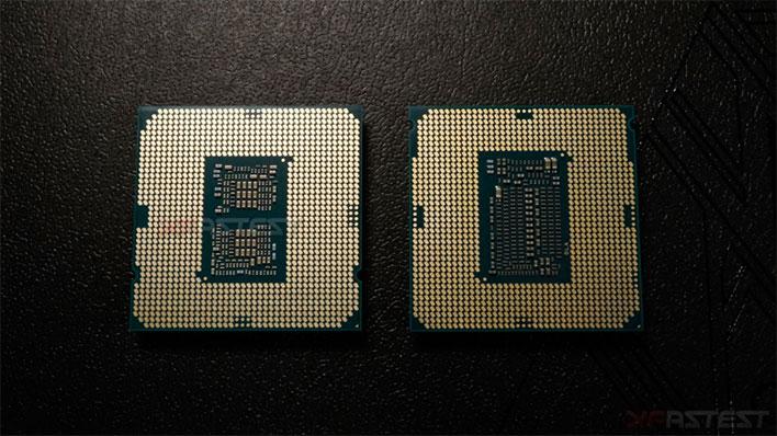 Intel Core i9-10900 Bottom