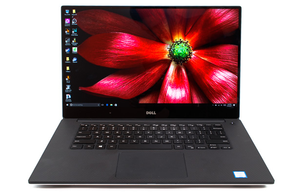 dell xps 15 9560 front view