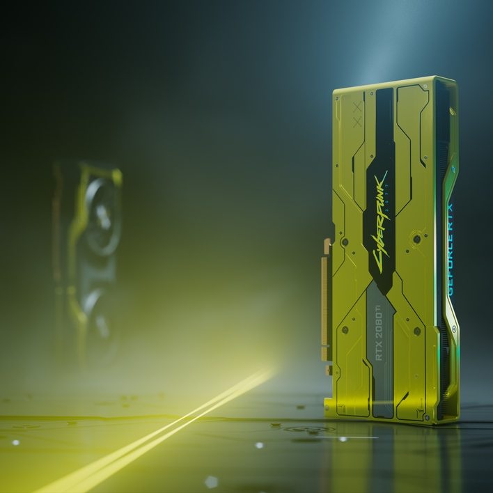 NVIDIA's GeForce RTX 2080 Ti Cyberpunk 2077 Edition Is Real And Spectacular