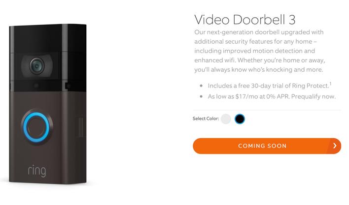 Video Doorbell 3