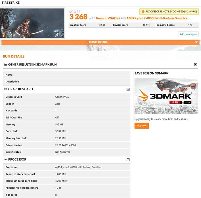 Amd Ryzen 9 4900hs Mobile Cpu Shows Huge Performance Gains In Benchmark Leak Hothardware