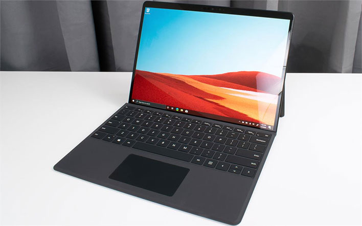 Microsoft Surface Pro X Hits All Time Low With Red Hot 450 Discount Hothardware