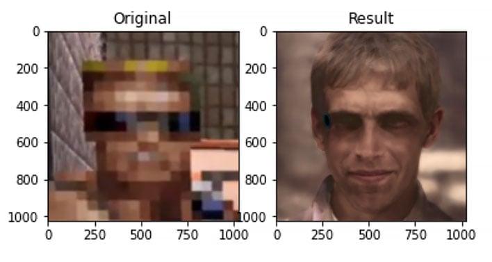 creepy game character