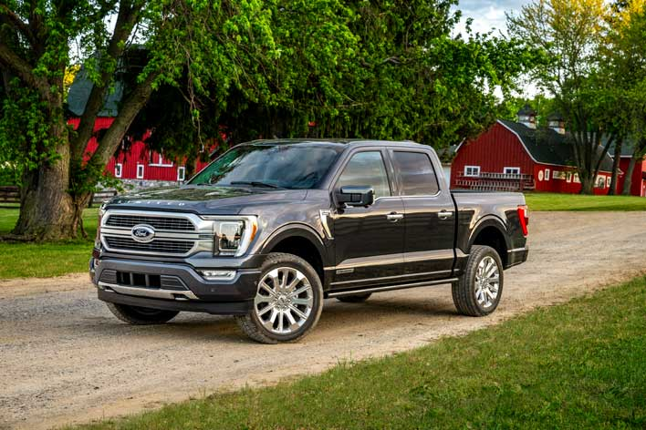 Image of article 'All-New Ford F-150 Debuts With Hybrid Power, Self-Driving Tech And Plush Comfort Features'
