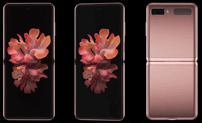Samsung Galaxy Z Flip 5g Gets 360 Degree Photoshoot In Mystic Bronze Hothardware
