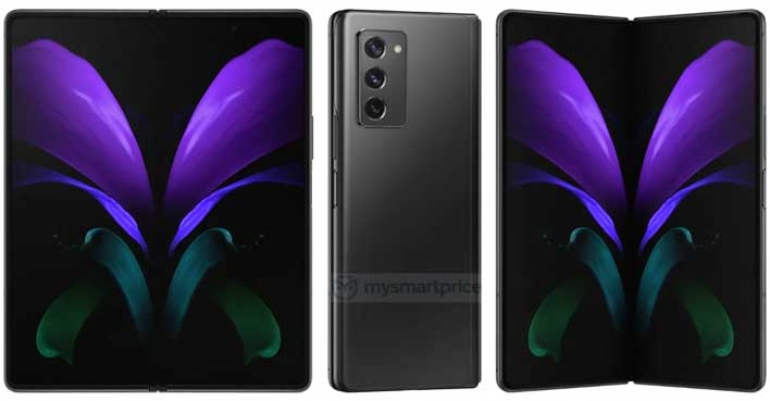 Samsung S Galaxy Z Fold 2 Flagship Phone Looks Flipping Fantastic In Leaked Images Hothardware