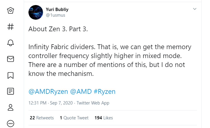 Amd Ryzen 4000 Zen 3 Vermeer To Bring 10 Core Cpu Models And Infinity Fabric Dividers Hothardware