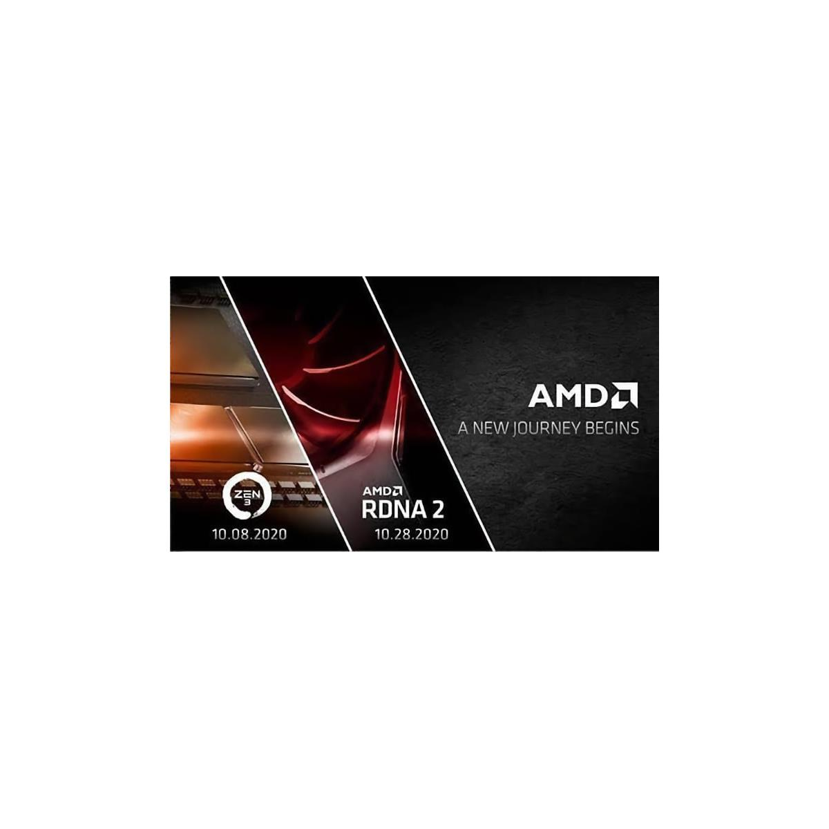Radeon Rx 6000 And Zen 3 October Surprise Amd Sets Dates For A New Journey Hothardware