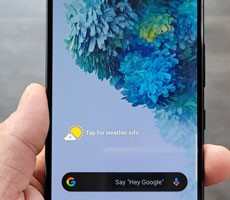 Samsung Galaxy S20 Fan Edition Leaks On Video With 120Hz Display And 4500 MAh Battery
