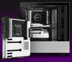 NZXT Launches Tricked Out N7 Z490 Motherboard For Intel Comet Lake CPUs