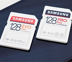 Samsung EVO Plus And PRO Plus SD Cards Deliver 100MB/s Speeds And Enhanced Durability For Photographers