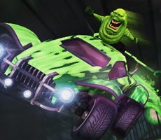 Rocket League Haunted Hallows Event Brings Ectoplasmic Ghostbusters Crossover