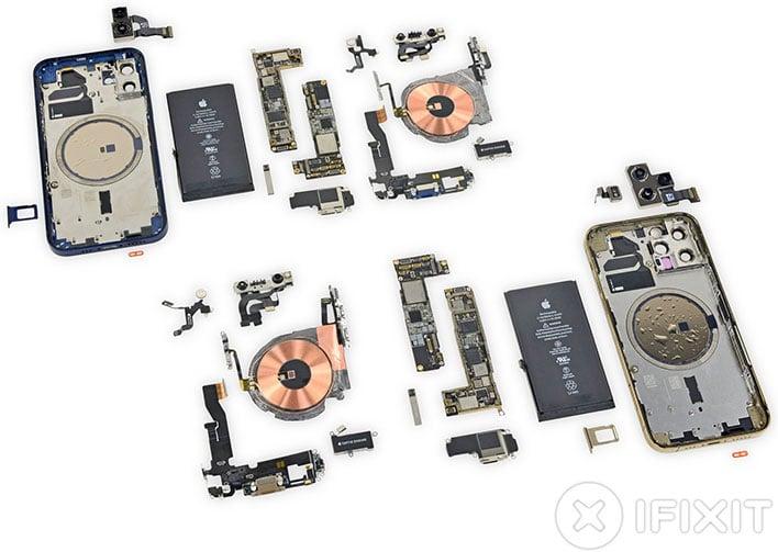 iphone 12 explosion crash ifixit