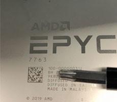 AMD EPYC 7763 64-Core 128-Thread Zen 3 CPU Flexes With 3.53GHz Clock