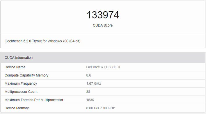 Geforce Rtx 3060 Ti Benchmarks Leak Previewing Nvidia S Rumored 399 Value Play Hothardware