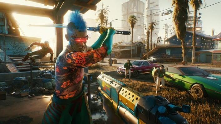cyberpunk 2077 night city 2