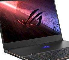 ASUS ROG Zephyrus GX551QS Laptop Flexes Ryzen 9 5900H Zen 3 CPU, GeForce RTX 3080 16GB GPU