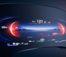Mercedes-Benz Unveils 56-Inch Hyperscreen OLED Infotainment Display For EQS EV