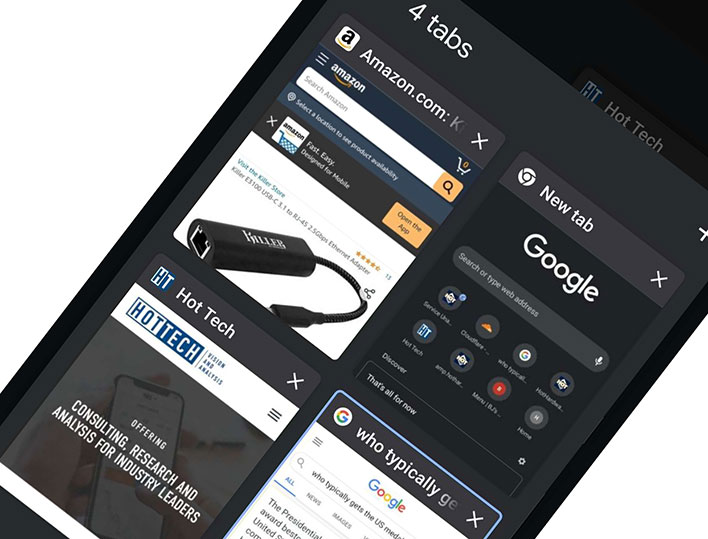 Google Chrome For Android Gains Powerful Group Tabbing ...
