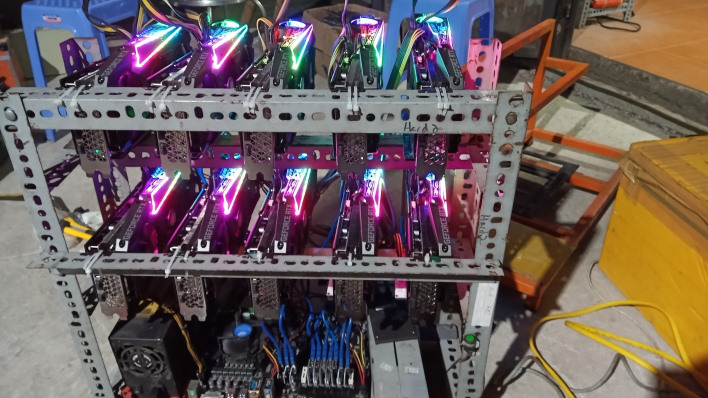 iranian blackouts possibly caused by bitcoin mining RIG 1