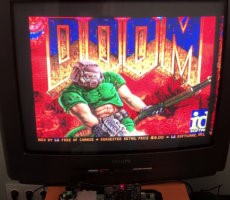 Check Out Doom Running On The Sega Genesis With A Simple Flash Cartridge