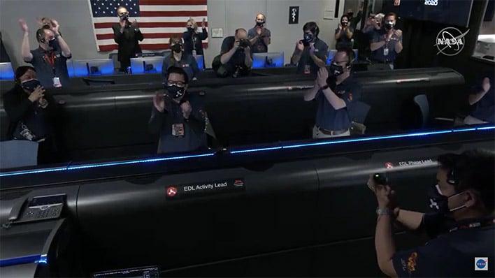 NASA Perseverance Mars Rover Sticks Its Landing, Will ...