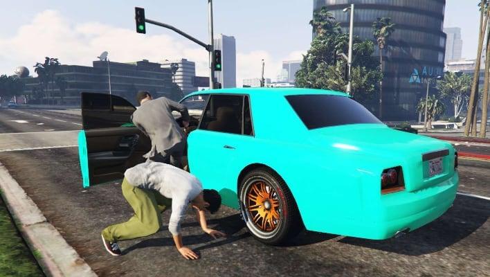 grand theft auto carjacking