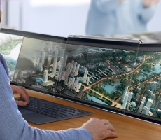 Compal's Airttach Laptop May Be The Best Triple-Screen Concept We've Seen Yet