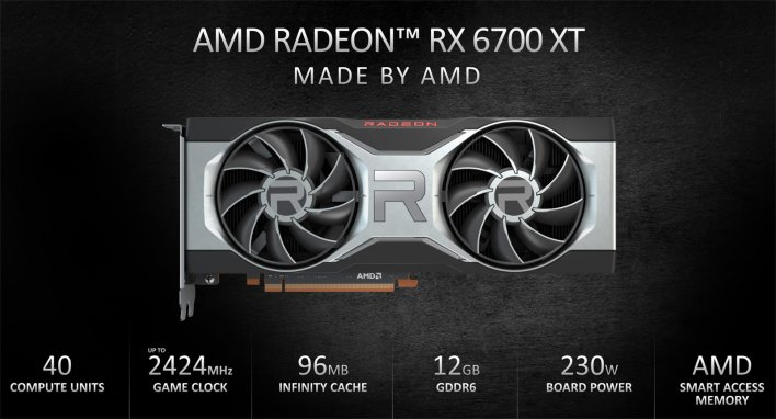radeon rx 6700 xt specifications