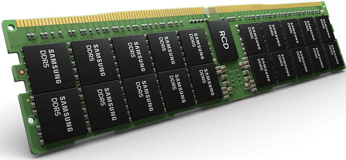 Samsung DDR5 module