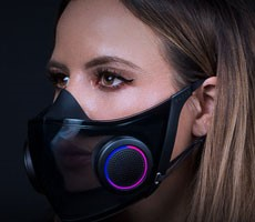 Razer's Wild RGB Project Hazel COVID-19 Face Mask Is Going Into Production