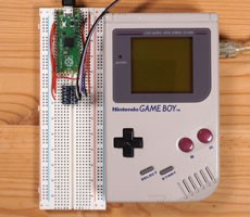 Nintendo Game Boy Converted To Bitcoin Mining Noob With Raspberry Pi Pico