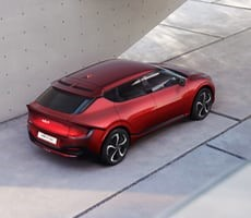 Kia's Stylish EV6 GT Electric Car Shocks With 577 Horsepower, Goes 0-60 MPH In 3.5 Seconds