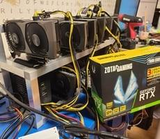 GeForce RTX 3060 Scores Flawless Victory Against ETH Limiter In 7-GPU Mining Rig