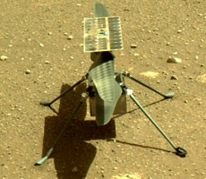 NASA Ingenuity Helicopter Lands On Mars, Preps For Historic First Flight