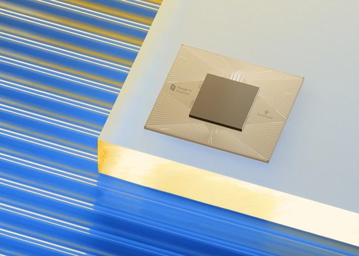 chip google unveils quantum ai campus for the future of googles quantum research