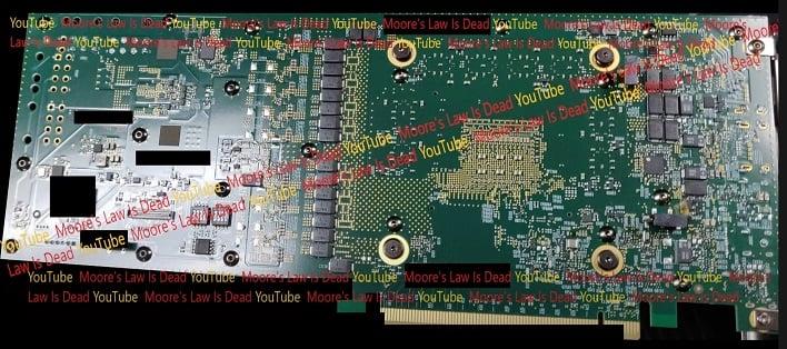 intel xe dg2 pcb leak