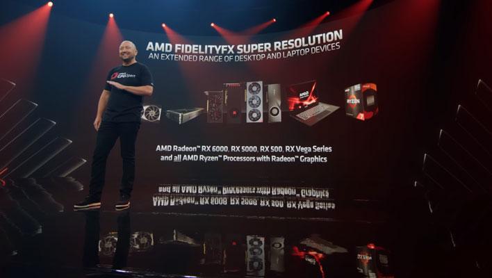 Tarjetas gráficas de superresolución AMD FidelityFX