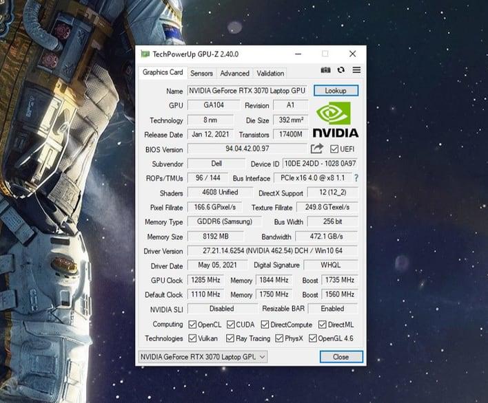 alienware m15 r5 vbios rtx 3070