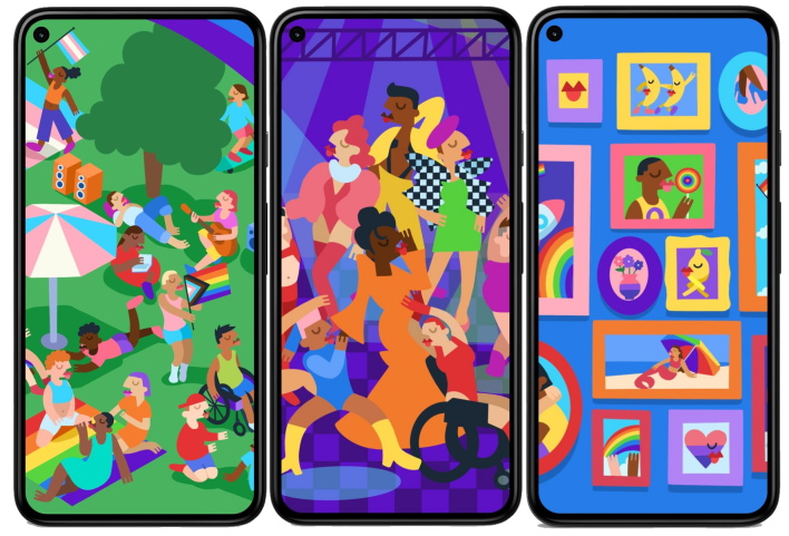 pride google drops security and feature update for pixel devices