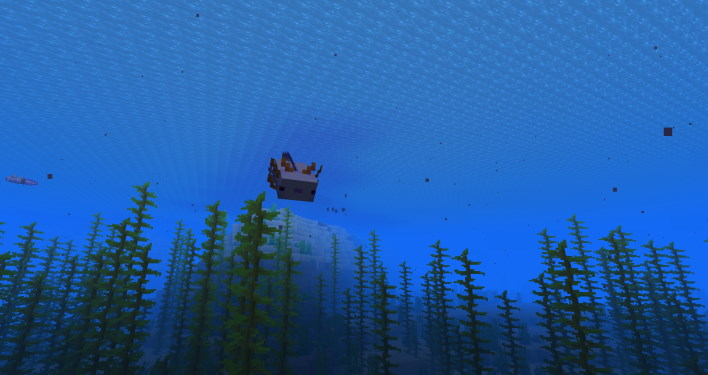 blue axolotl sea minecraft 117 how to find axolotl and amethyst grow glow berries and craft a lightning rod