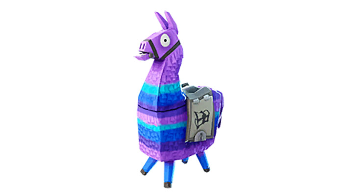 epic games fortnite loot llamas