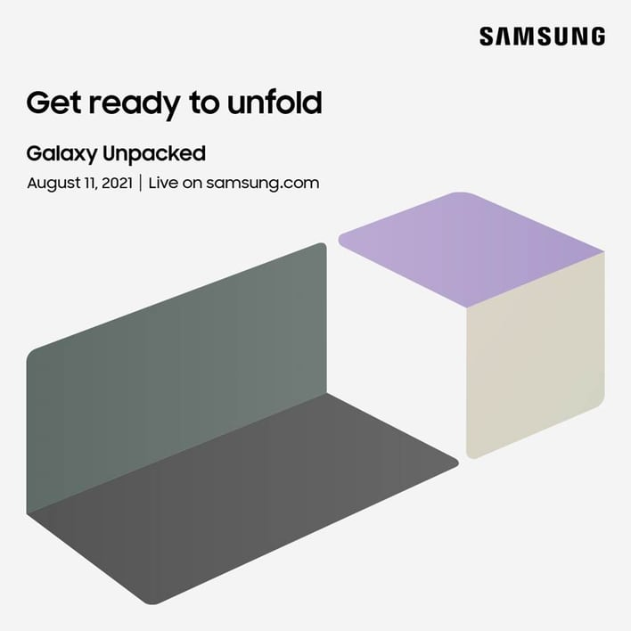 Samsung Confirms August 11 Galaxy Unpacked Event For Galaxy Z Fold 3 And Z Flip 3