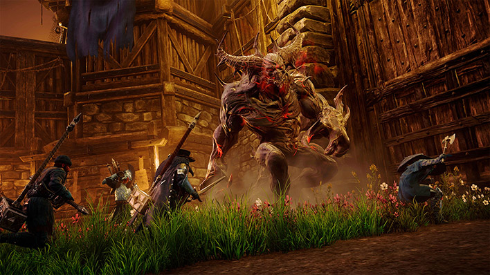 Amazon's New World MMO Is An Early Smash Hit As Over 600K Players Clog Game Servers - Hot Hardware