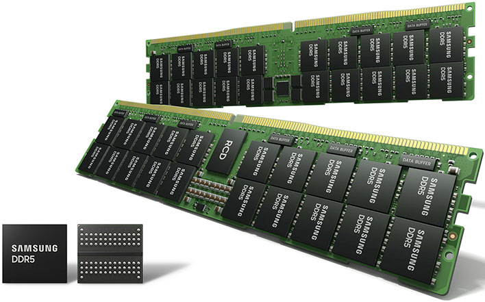 Samsung's 5-Layer EUV DDR5 Chips Will Enable DDR5-7200 Memory For Next-Gen Platforms